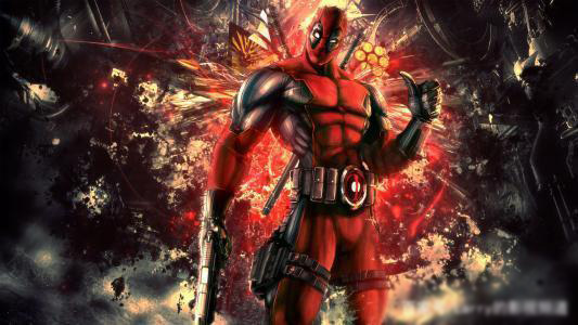 the armor of the Deadpool like that of Spider-Man